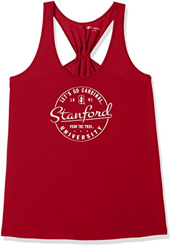 Gear Cardinal Stanford (Champion NCAA Stanford Cardinal Women's Eco Swing Tank, Medium, Cardinal)