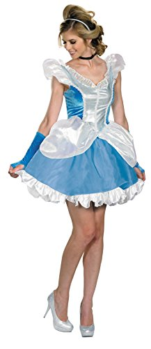 UHC Women's Deluxe Sexy Cinderella Ball Room Disney Princess Fancy Costume, S (4-6) (Sexy Disney Villains)