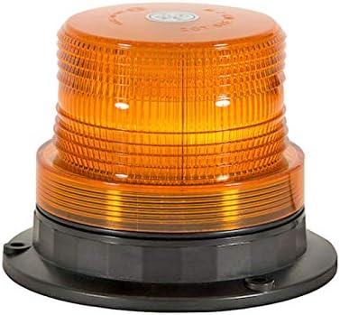 Flashing Amber Beacon Permanent//Magnetic Mount - Single L.E.D SL502A
