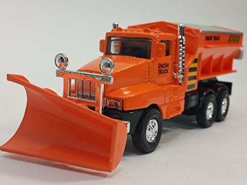Spreader End - Orange Front End Snow Plow Rear Salt Spreader 5.75