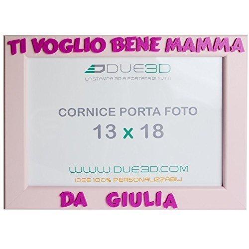 Cornice Personalizzata Ti Voglio Bene Mamma In Stampa 3d Idea
