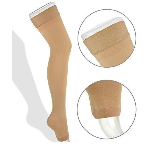 Thigh High Compression Stockings 20-30mmHg Pair
