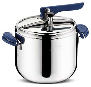 Brava Lagostina - Olla a presión (3,5 L) con accesorio de cocción al vapor