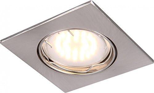 Exquisito 5W foco de LED de aluminio lámpara del vestíbulo escalera Globo PITTSBURGH 12341: Amazon.es: Iluminación
