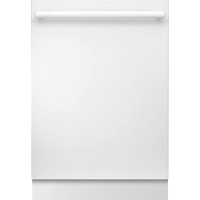 """Bosch SHXM78W52N 24"""" 800 Series Built In Fully Integrated Dishwasher with 6 Wash Cycles, in White"""