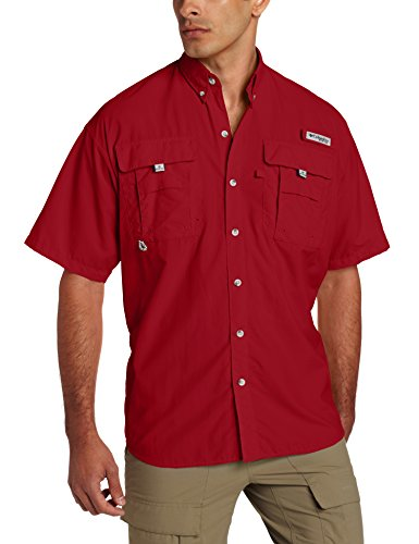 Columbia Mens Bahama Short Sleeve Shirt