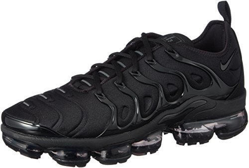 Nike Men's Air Vapormax Plus, Black/Black-Dark Grey, 8 M US