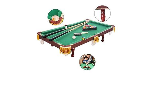 Mesa de billar Mini mesas de Billar Niños Negro Americano 8 Juegos ...
