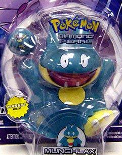 Pokemon Jakks Pacific Diamond & Pearl Series 1 Basic Figure Munchlax - Munchlax Pokemon Diamond