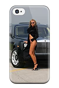 New Style Tpu 4/4s Protective Case Cover/ Iphone Case - Rolls Royce