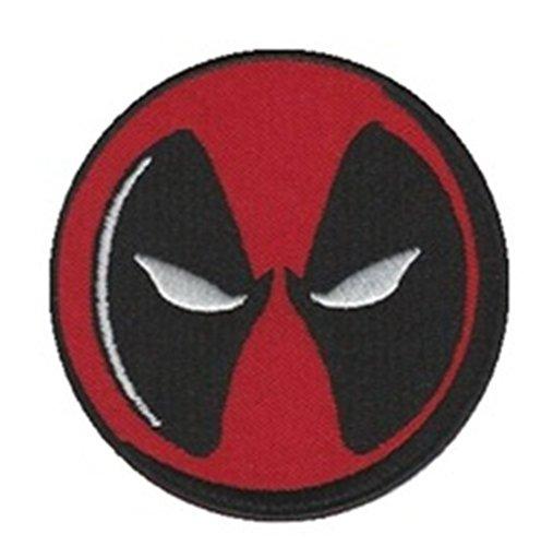 "Athena Marvel Comics Deadpool 3"" Logo X-Men Embroidered Iron/Sew-on Applique Patch"