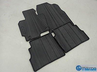 2016 mazda cx 5 all weather floor mats rubber mat set 2017. Black Bedroom Furniture Sets. Home Design Ideas