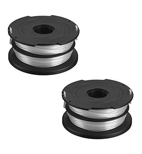 Black & Decker OEM DF-065 spool line AFS string trimmer (2 Pack)