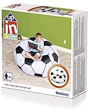 كرسي على شكل كرة قدم من بيست واي، مقاس 1.14 متر× 1.12 متر × 66 سم