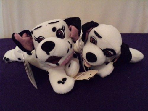 101 Dalmatians - Disney Bean Bag Plush - Lucky Dog or Jewel Dog