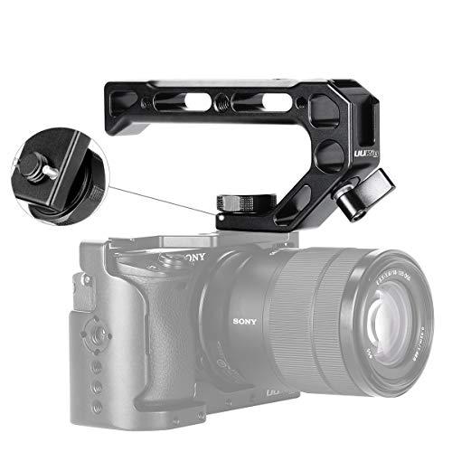 کیف دستی UURig R008 دوربین / DSLR اتصال اتصال سوراخ ARRI برای Sony A6400 6300 دوربین قفس دوربین فلزی با زاویه پایین 4 کفش میکروفون نصب شده با کفش سرد 15MM
