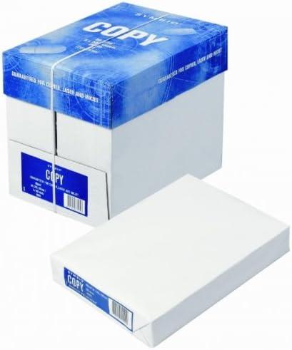 SYMBIO 5 paquetes de 500 hojas=2500 FOLIOS papel 80 gr/m2 DIN A4: Amazon.es: Oficina y papelería