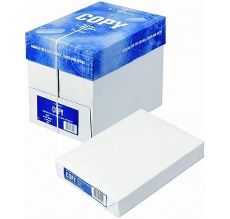 SYMBIO 5 paquetes de 500 hojas=2500 FOLIOS papel 80 gr/m2 DIN A4 ...