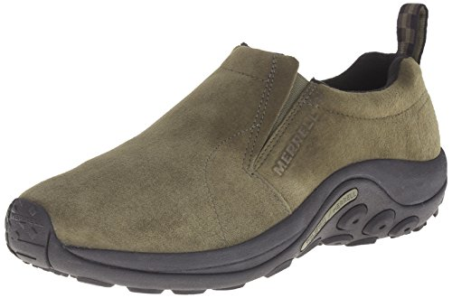 Merrell Men's Jungle Moc Slip-On Shoe, Dusty Olive, 9.5 M - Green Merrell