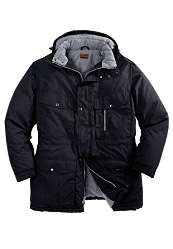 Athletic Winter Parka (Boulder Creek Men's Big & Tall Expedition Parka, Black Tall-L)