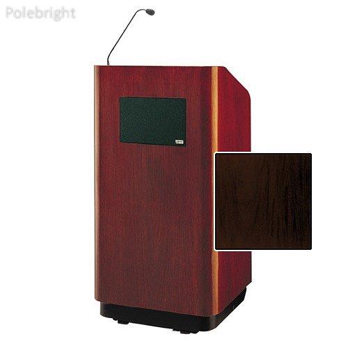 Floor Mahogany Laminate (Concord Special Needs Adjustable Floor Lectern (42