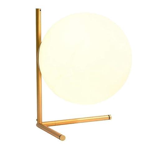 Lámpara de mesa de sala de estar minimalista escandinava estudio ...