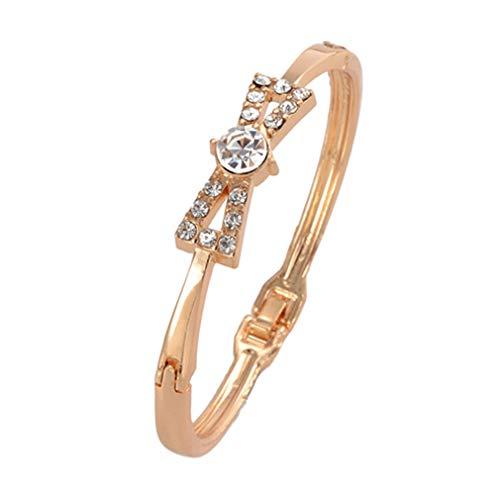 Golden Plated Bracelets for Women's Bracelets Bangles Gift Jewelry SL279 ()