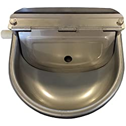 STAINLESS STEEL AUTOMATIC ANIMAL STOCK WATERER by Rabbitnipples.com
