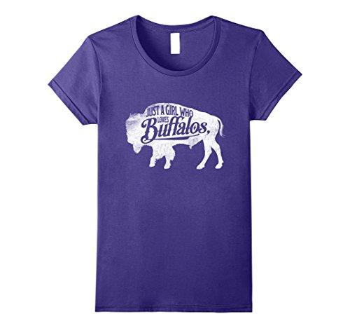 ho Loves Buffaloes Buffalo TShirt Bison Lover XL Purple (Purple Buffalo)