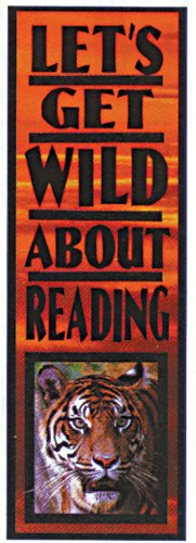 Eureka 843340 Bookmarks, Set of 36, Let's Get Wild About Reading
