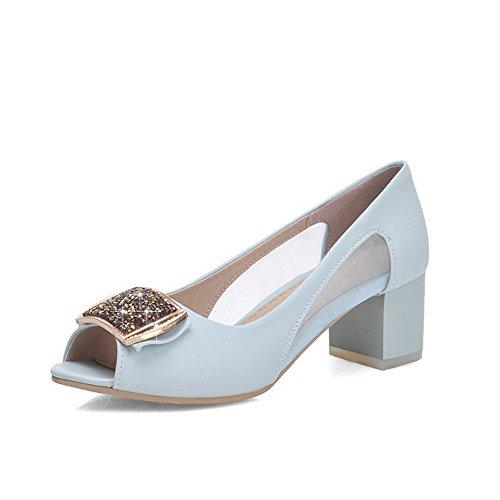 heels Agoolar Alto Peep Con Da Pu Toe Donna In Tacco Kitten PrSqrwt