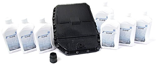 Transmission Service Kit with Filter, Gasket, Pan, and Fluid for Range Rover Full Size and Sport