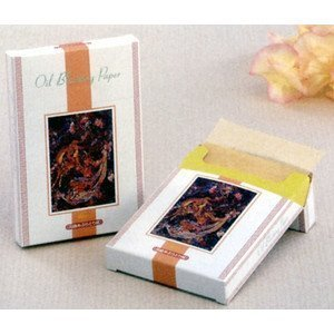 Japanese Premium Oil Blotting Paper - (500 Sheets) !