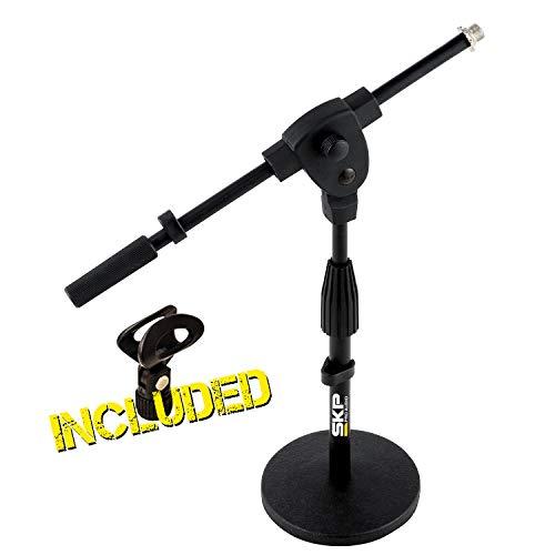 SKP PRO AUDIO SP-4 Microphone Stand Drum/Guitar Amp/Radio Mic Stand