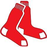 "Boston Red Sox MLB Baseball Car Bumper Sticker Decal 5"" x 5"""