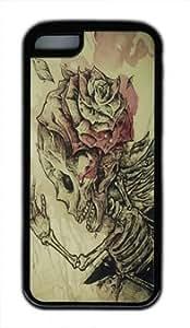 meilz aiaiSkulls and Roses customized ipod touch 4 TPU Black Casemeilz aiai