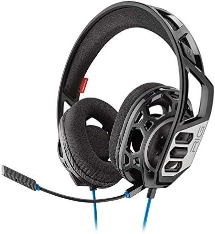 Plantronics RIG 300 HS Binaural Diadema Negro - Auriculares con micrófono (Consola de videojuegos + PC/Videojuegos, Binaural, Diadema, Negro, Alámbrico, 1,3 m) - Compatible con PS5