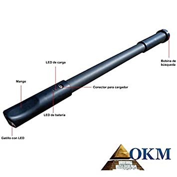 Okm Metalldetektor Fusion Professional Amazonde Baumarkt