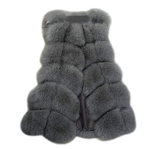 天気ストレッチマイクロサクララ(Sakulala) レディース ファーコート 毛皮コート ベストファーベスト 可愛い 毛皮ベスト 上着 フェイクファーベスト 柔らかく ふわふわ 体型カバー 暖かさ 贅沢感 高級感 秋冬