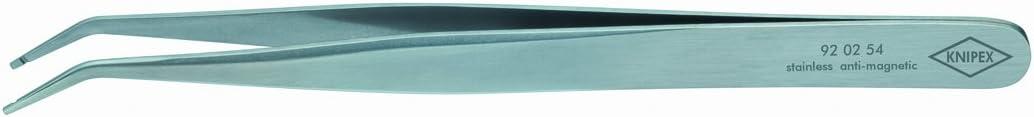 KNIPEX 92 02 54 Pr/äzisions-Pinzette 120 mm