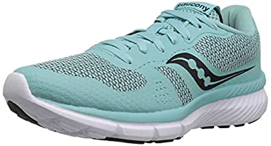 Saucony Women's Trinity Running Shoes, Mint/Grey, 10 M US