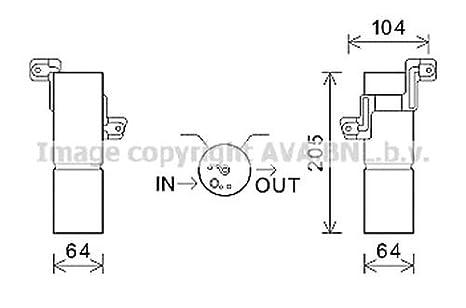 Prasco - Los secadores de Aire de, de la Clase s, s-Clase Cl coupé: Amazon.es: Coche y moto