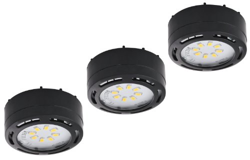 Black Led Puck Lights