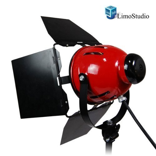 LimoStudio Professional Photo Video Studio 800W Continuous Barndoor Light Head Photography, AGG942 by LimoStudio