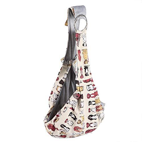 Small Pet Cat Dog Single Bag Can-vas Adjustment Slung Convenient Bag