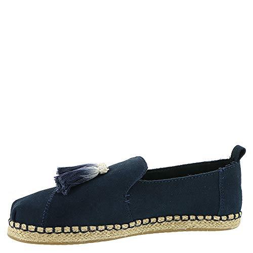 Slip Alpargata Women's Deconstructed TOMS Blue Suede Shoe Cinderella On Navy qxRFdwX