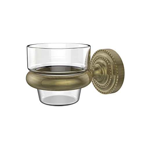 Allied Brass DT-64-ABR Dottingham Collection Wall Mounted Votive Candle Holder Antique - Votives Antique Brass