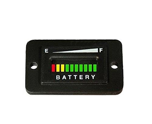 Automotive Authority LLC 12V 12 Volt Marine Trolling Motor Battery Indicator Charge Status Power Meter