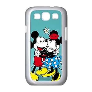Disney Mickey Mouse Minnie Mouse C3Y77E3FL funda Samsung Galaxy S3 9300 funda caso K384U3 blanco