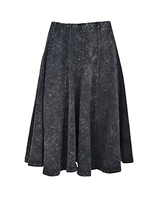 Kiki Riki Adult Denim Wash Panel Skirt
